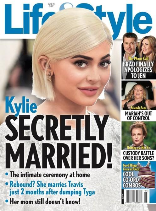 Kylie Jenner (19 l.) nie ma jeszcze 20 lat, a już zdążyła popełnić ten sam błąd, co Kim Kardashian i wziąć ślub przed kamerami, by zarobić na nim miliony.