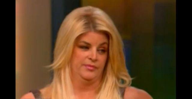 Kirstie Alley przytyła prawie 40 kilo! (VIDEO)
