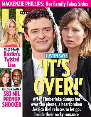 Justin Timberlake i Jessica Biel - to koniec!