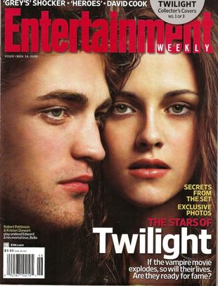 Pattinson i Stewart na okładce <i>Entertainment</i>