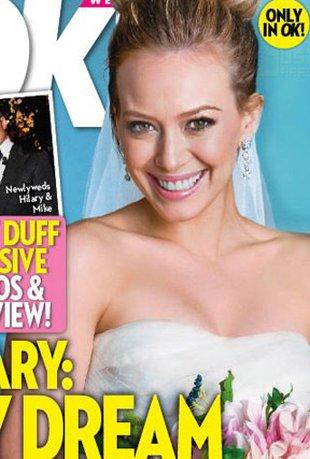 Hilary Duff sprzedała zdjęcia ze ślubu (FOTO)