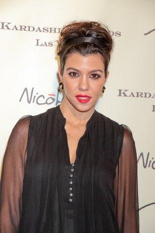 Ciężarna Kourtney Kardashian ma problemy z jedzeniem