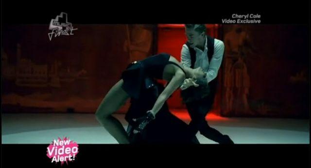 Seksowna Cheryl Cole tańczy tango (VIDEO)