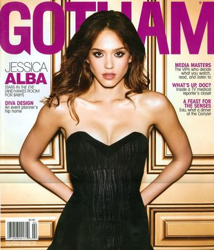 Jessica Alba w Gotham (FOTO)