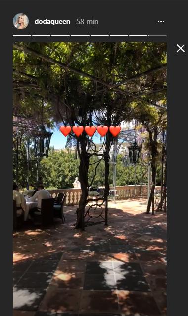 Doda chwali się KULISAMI ślubu i poprawin! Ogród, słońce i pałace