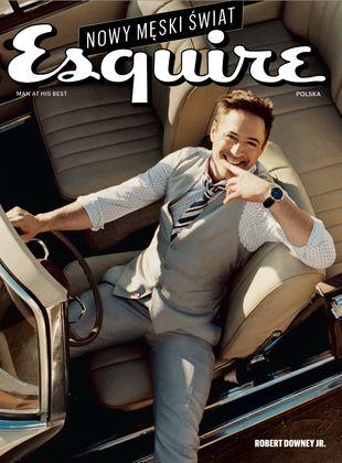 Dawid Ogrodnik na pierwszej okładce magazynu Esquire FOTO