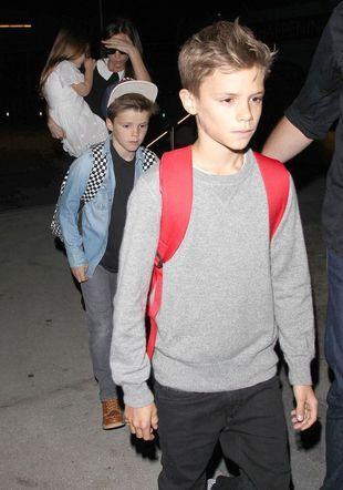 ZzzzZZZzzzaspani Beckhamowie przybyli do Los Angeles (FOTO)