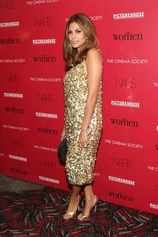 Eva Mendes w złocie (FOTO)