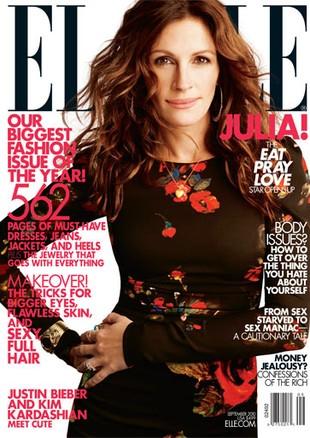 Julia Roberts w najnowszym Elle (FOTO)
