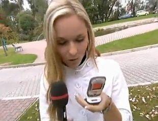 Zobacz, co zrobiła słowacka pogodynka! (VIDEO)
