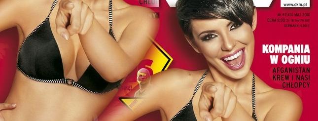 Dorota Gardias w majowym magazynie CKM (FOTO)