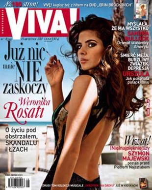 Weronika Rosati z papierosem na okładce Vivy (FOTO)