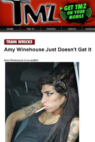 Amy Winehouse pali nadal