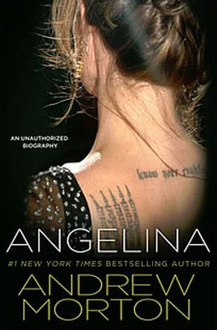 Okładka nowej książki o Angelinie Jolie (FOTO)