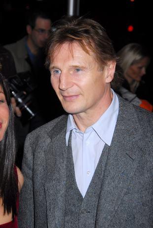 Obrzydliwe zdjęcie Liama Neesona