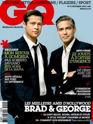 George Clooney i Brad Pitt razem