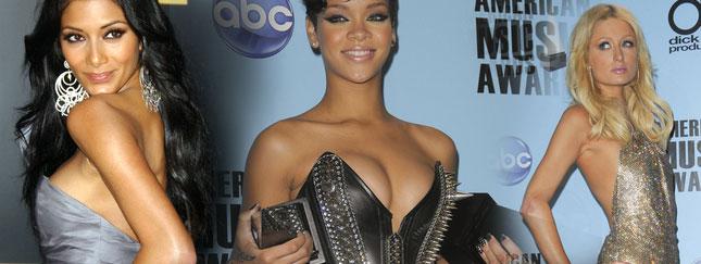Przegląd gwiazd na American Musi Awards (FOTO)
