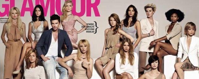 Dziewczyny z Top model na okładce Glamour (FOTO)