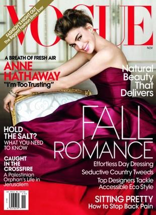 Anne Hathaway jako Audrey Hepburn w Vogue (FOTO)