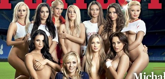 Seksowne dziewczyny Playboya testują poznańską murawę (FOTO)