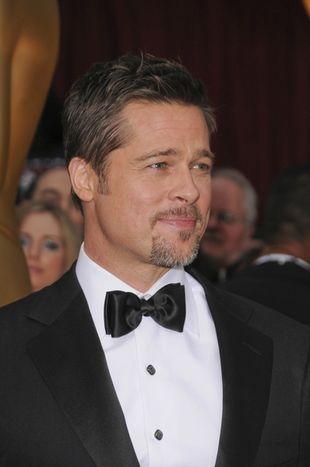 Brad Pitt najgorętszym tatuśkiem