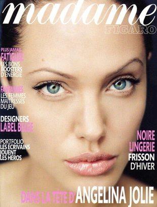 Angelina Jolie na okładce Madame Figaro