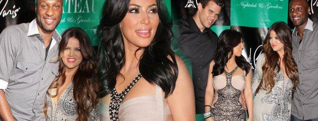 Kim Kardashian przyćmiła Khloe na imprezie (FOTO)