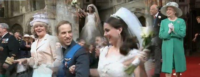 Parodia ślubu Williama i Kate