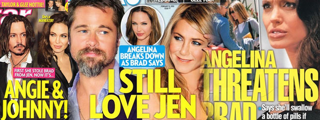 Angelina grozi Bradowi!