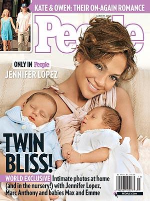 Pierwsze zdjęcia dzieci Jennifer Lopez