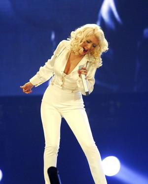 Christina Aguilera na luzie (FOTO)