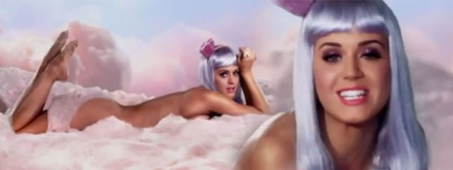 Katy Perry nago w California Gurls! (VIDEO)