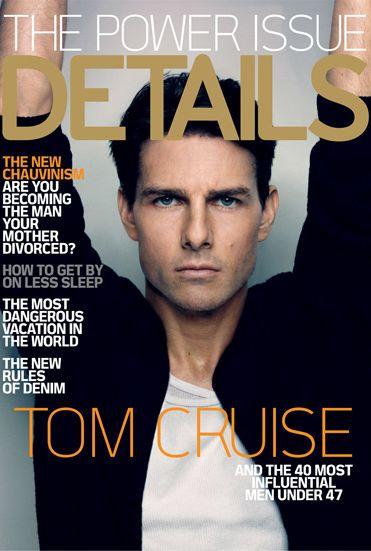 Tom Cruise na okładce Details