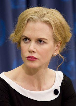 Wygwizdali Nicole Kidman na premierze filmu