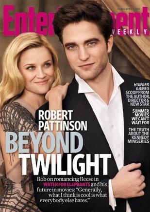 Reese Witherspoon o pocałunkach z Pattinsonem: odrażające!