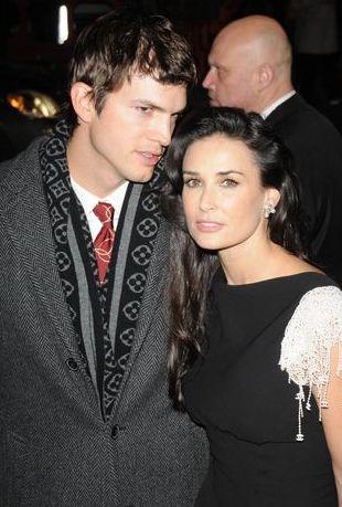 Demi Moore i Ashton Kutcher jak zakochane nastolatki (FOTO)