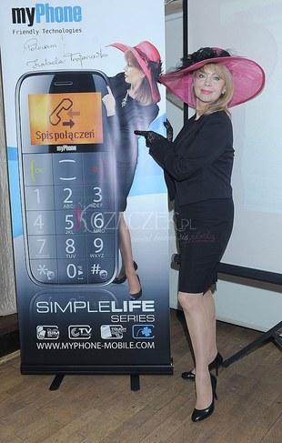 Izabela Trojanowska reklamuje telefony (FOTO)