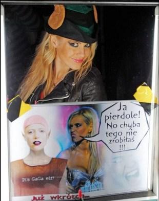 Doda sugeruje, że Gaga ją kopiuje (FOTO)