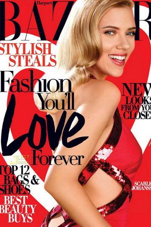 Scarlett Johansson dla Harper's Bazaar