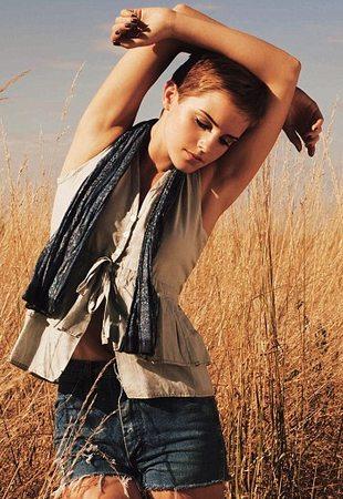 Emma Watson w klimacie country (FOTO)