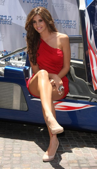 Hope Dworaczyk na najszybszym samochodzie (FOTO)