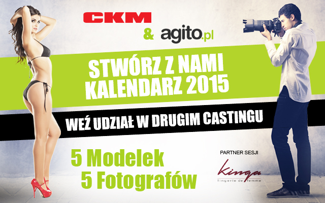 Pierwszy casting do Kalendarza CKM 2015 zakończony!