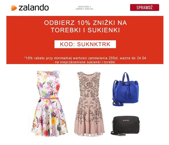 W Zalando rabaty na sukienki i torebki!