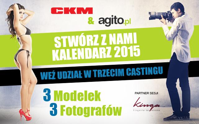 Rusza trzeci casting do kalendarza CKM!