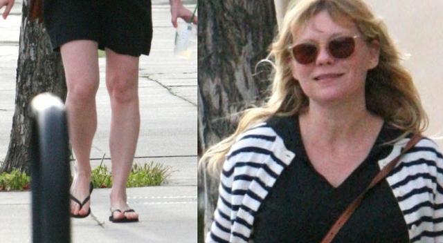 OMG! Kirsten Dunst w ciąży wygląda na bardzo ZANIEDBANĄ! (ZDJĘCIA)