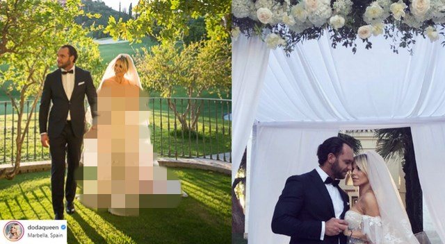 Wiemy ILE kosztowała suknia ślubna DODY! (ZDJĘCIA)
