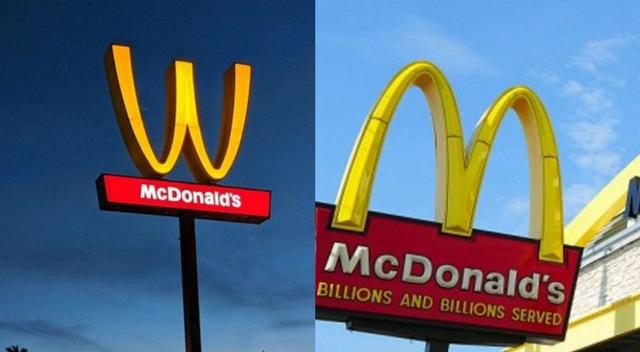 Firma McDonald's odwróciła swoje logo! Świętują DZIEŃ KOBIET!