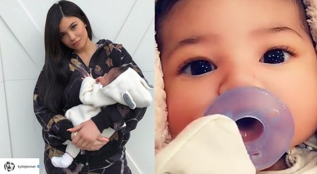 Kylie pokazała TWARZ córeczki!