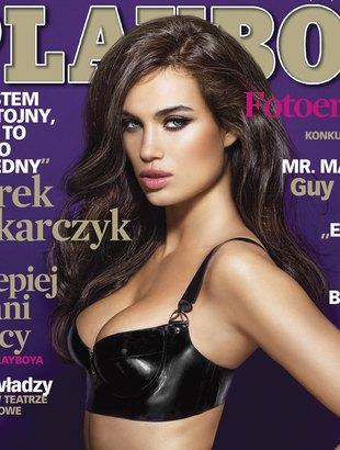 Alina Puscau bohaterką styczniowego Playboya (FOTO)