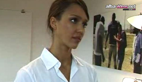 Jessica Alba na castingu do Dorwać Smarta (VIDEO)